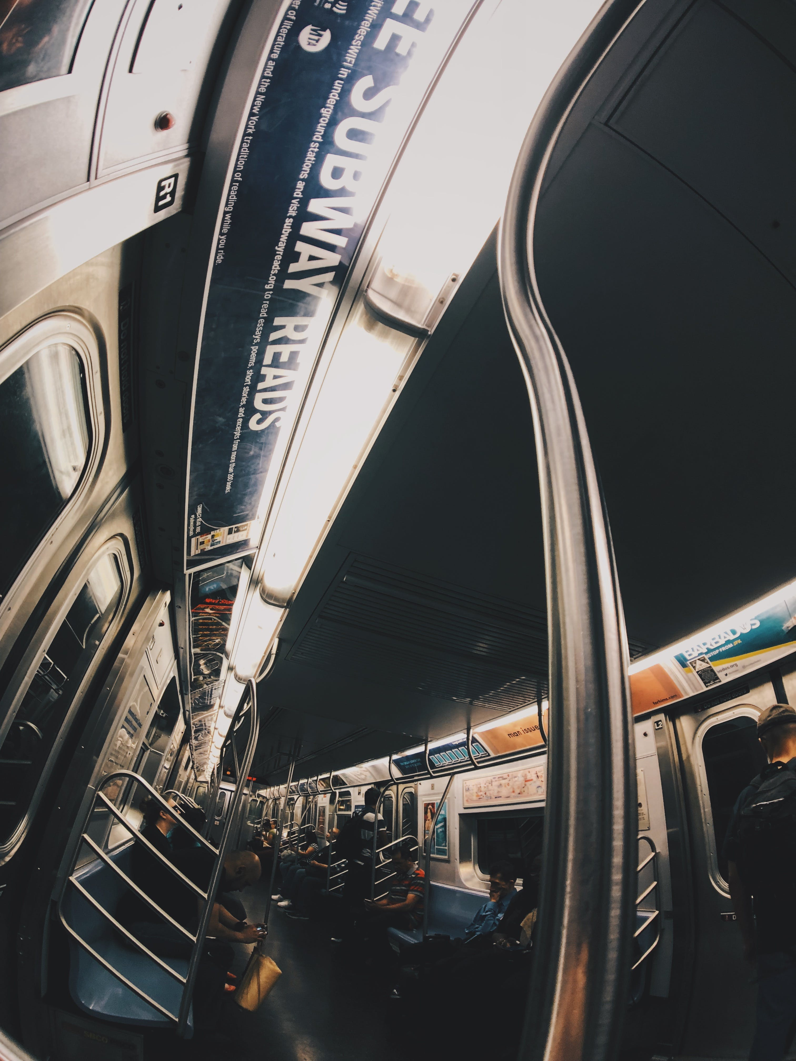 Gray Vehicle Rail