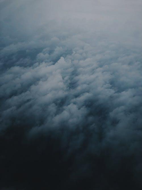 Foto stok gratis angin ribut, awan, bagus, bengkak
