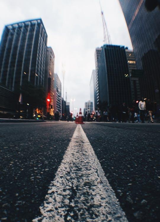 arkitektur, asfalt, asfalten