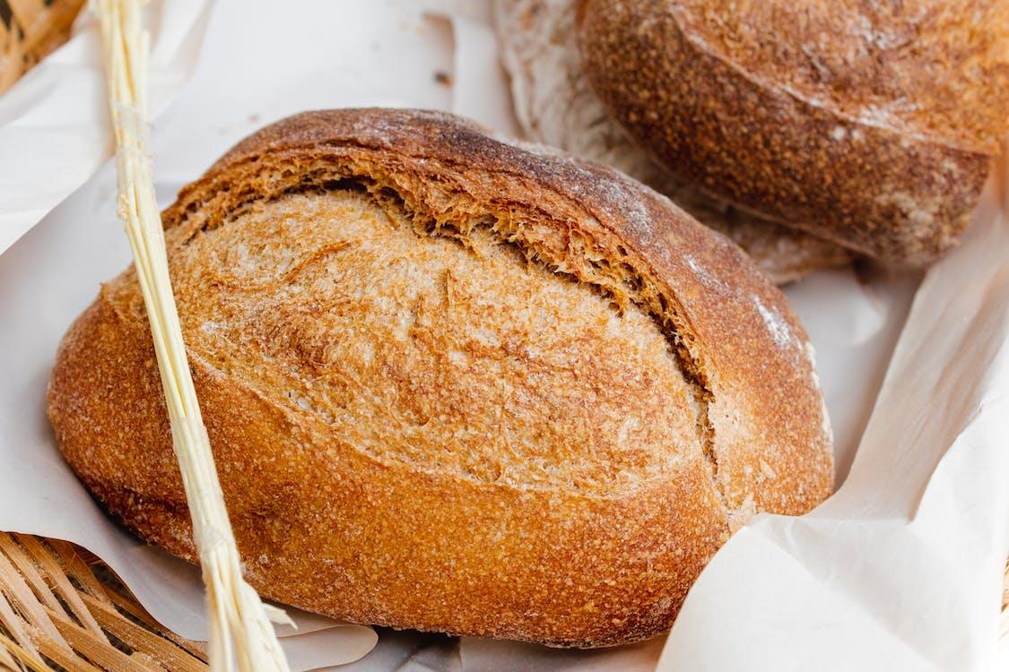 Bread on Wicker Basket