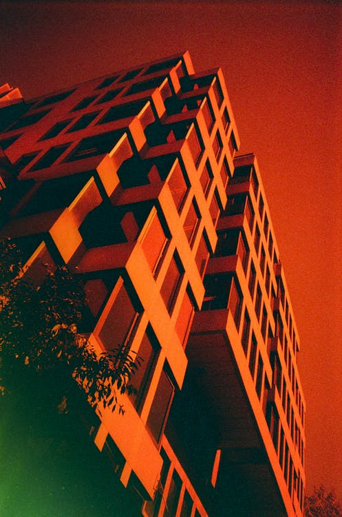 35mm, arkitektur, byggnadsexteriör