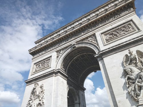 Photos gratuites de arc, arc de triomphe, architecture, attraction touristique
