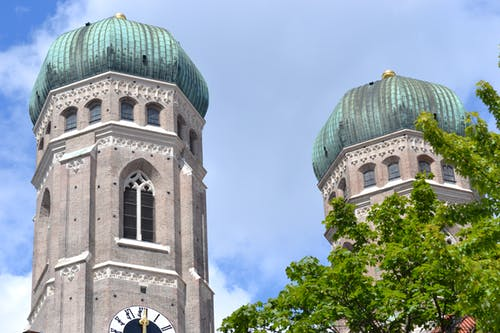 Free stock photo of church, faith, munich, steeple
