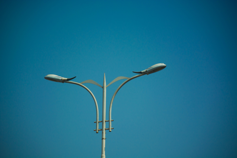 Free stock photo of design, focus, lamp post