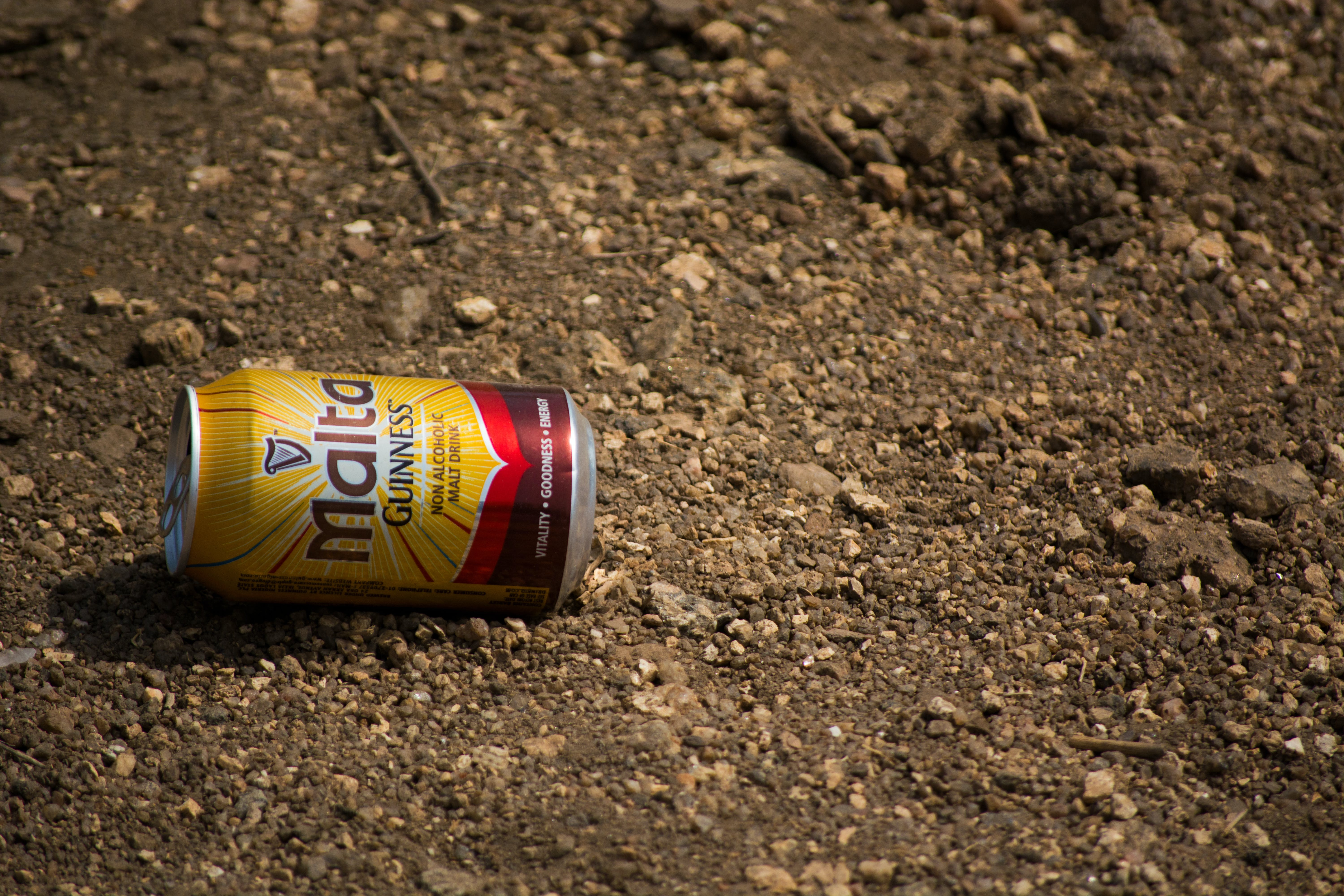 Free stock photo of can, lying, malta, road