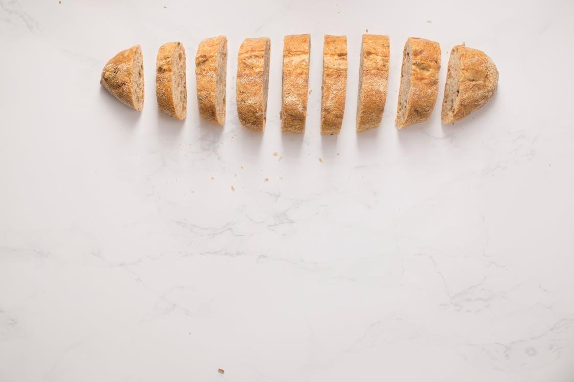bánh mỳ, bánh ngọt, cận cảnh