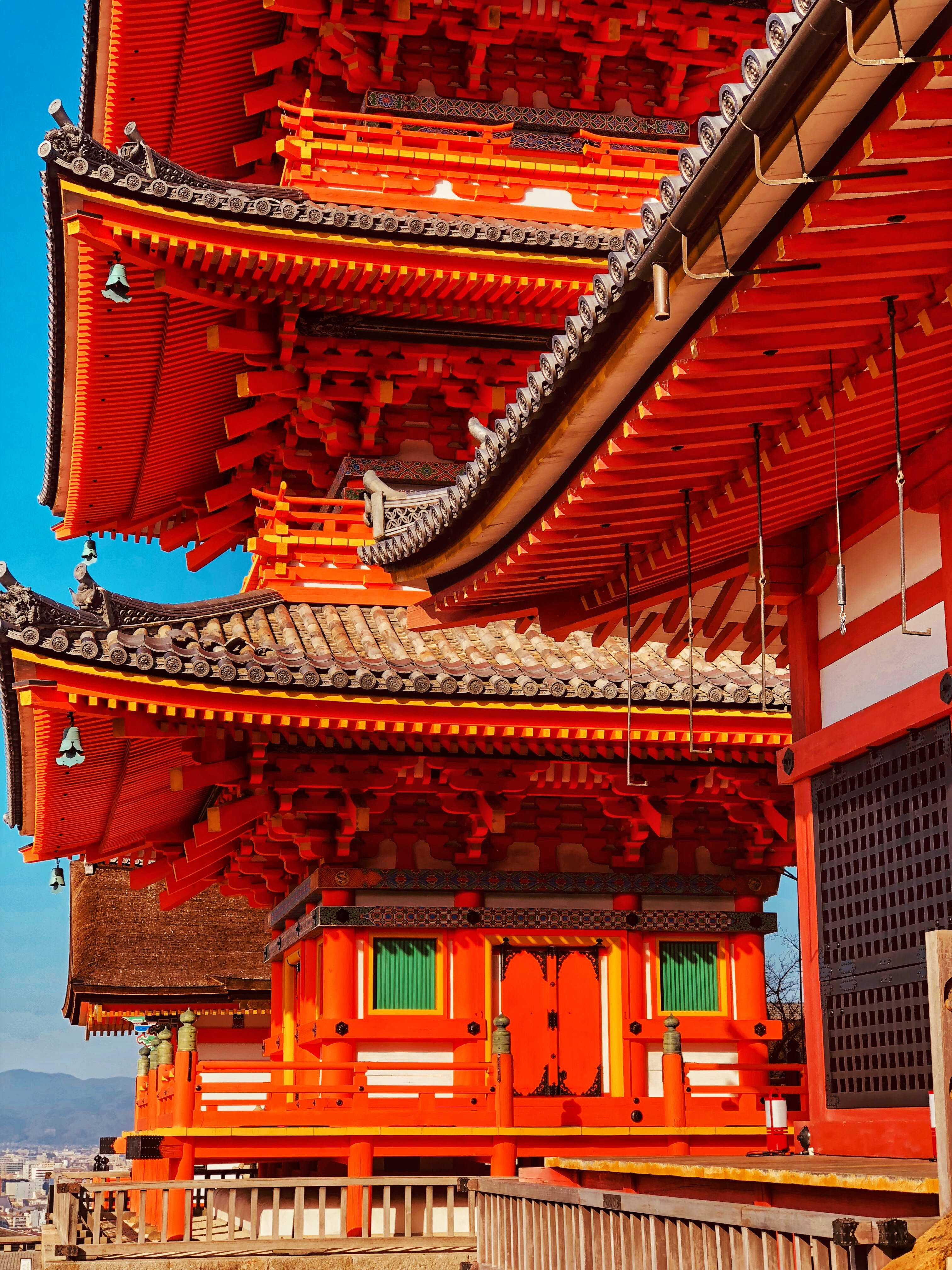 Red and Black Pagoda