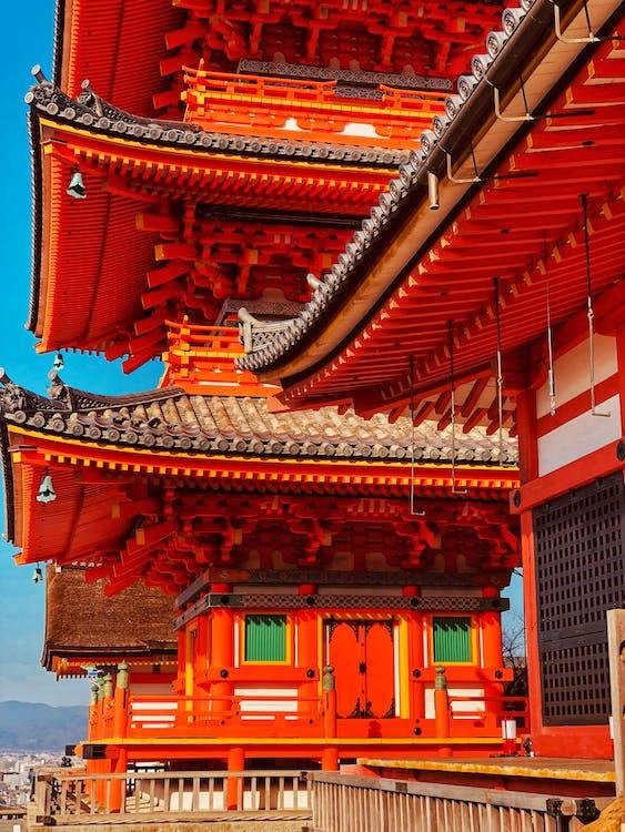 aasialainen arkkitehtuuri, arkkitehtuuri, katot