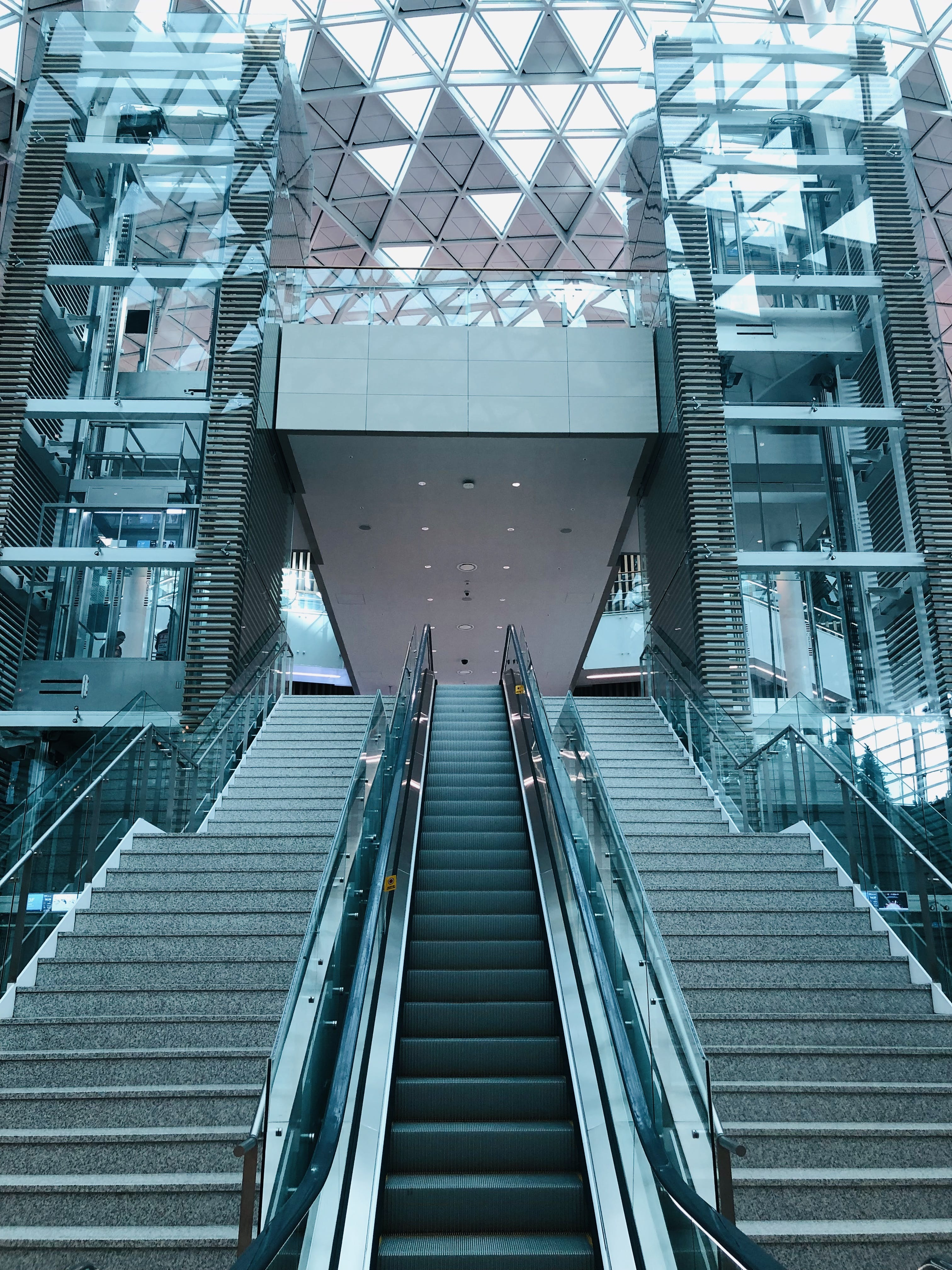 Photo of Escalator and Staircase
