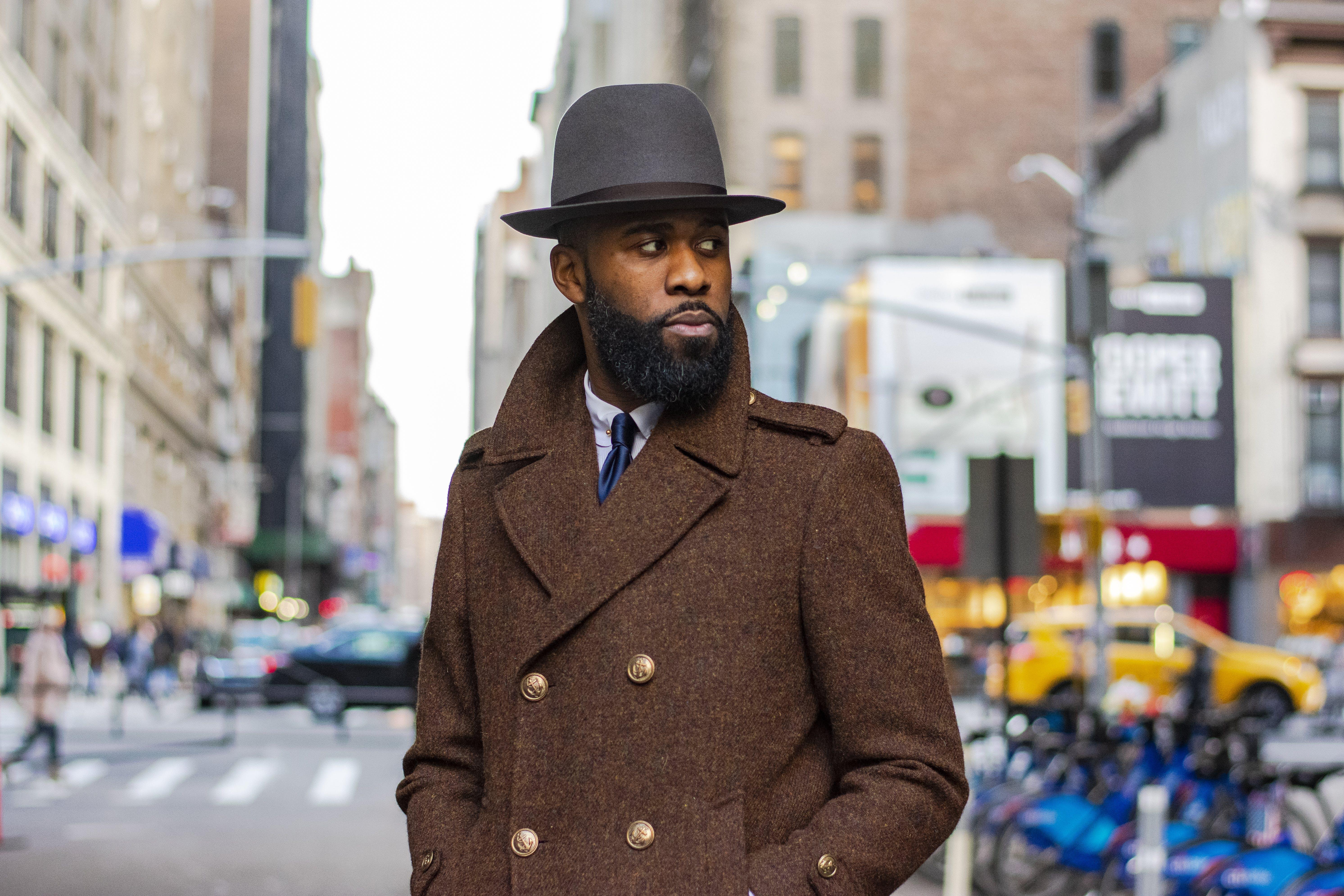 Man In Brown Coat