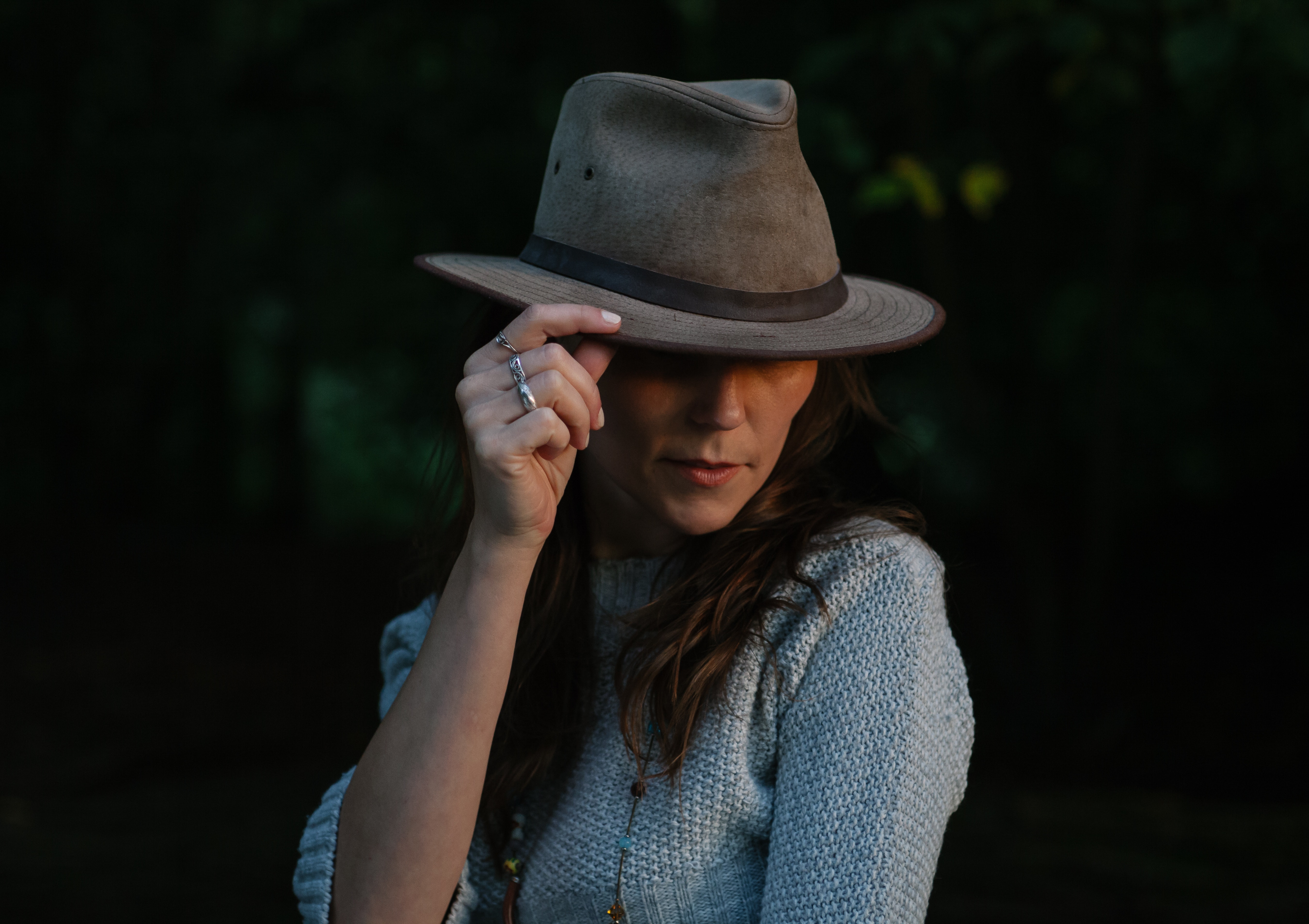 Woman in Brown Fedora Hat · Free Stock Photo 19ebe6c9970