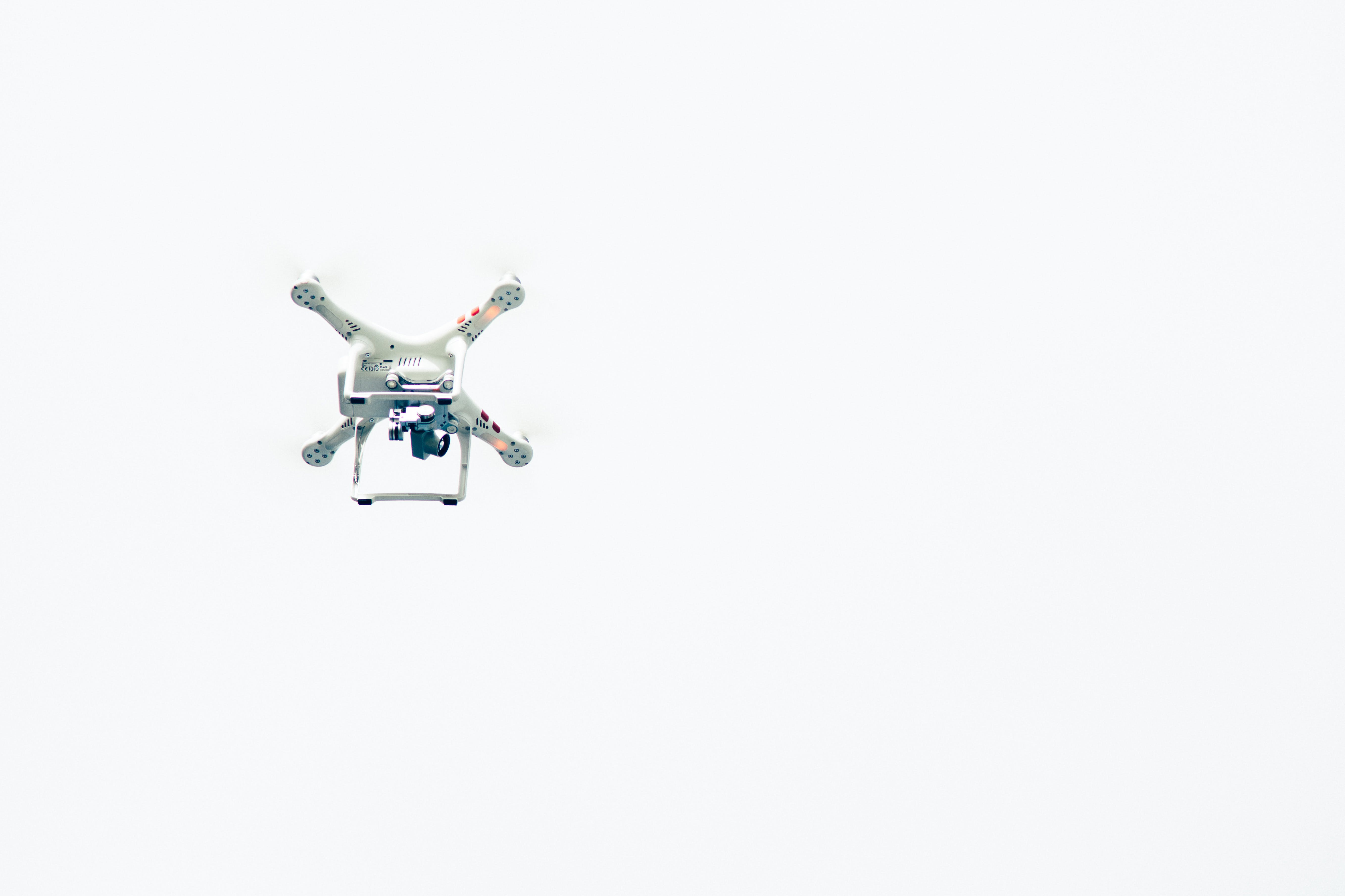 White Quadcopter