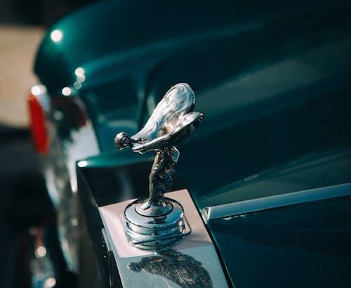 Foto d'estoc gratuïta de chrome, clareja, cotxe, emblema