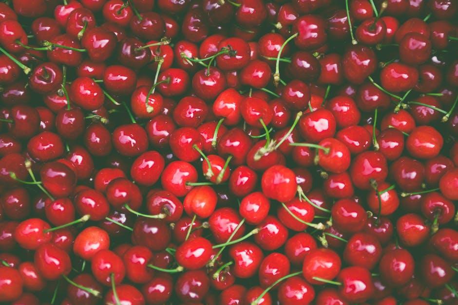 Pile of Cherry Fruit - Sainsburys