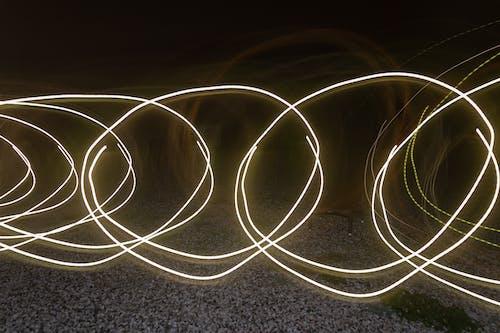 Imagine de stoc gratuită din expunere lungă, lumină, lumini de noapte