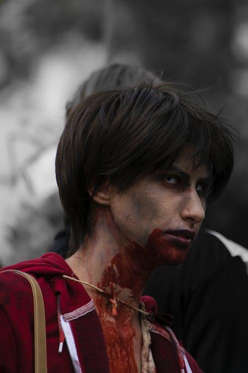 gözler, insanlar, kan, kıl içeren Ücretsiz stok fotoğraf