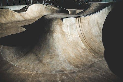 Kostenloses Stock Foto zu leer, pisten, skatepark