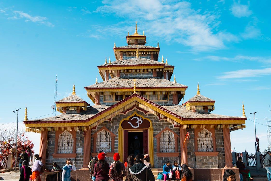 Indië, surkanda devi, tempel