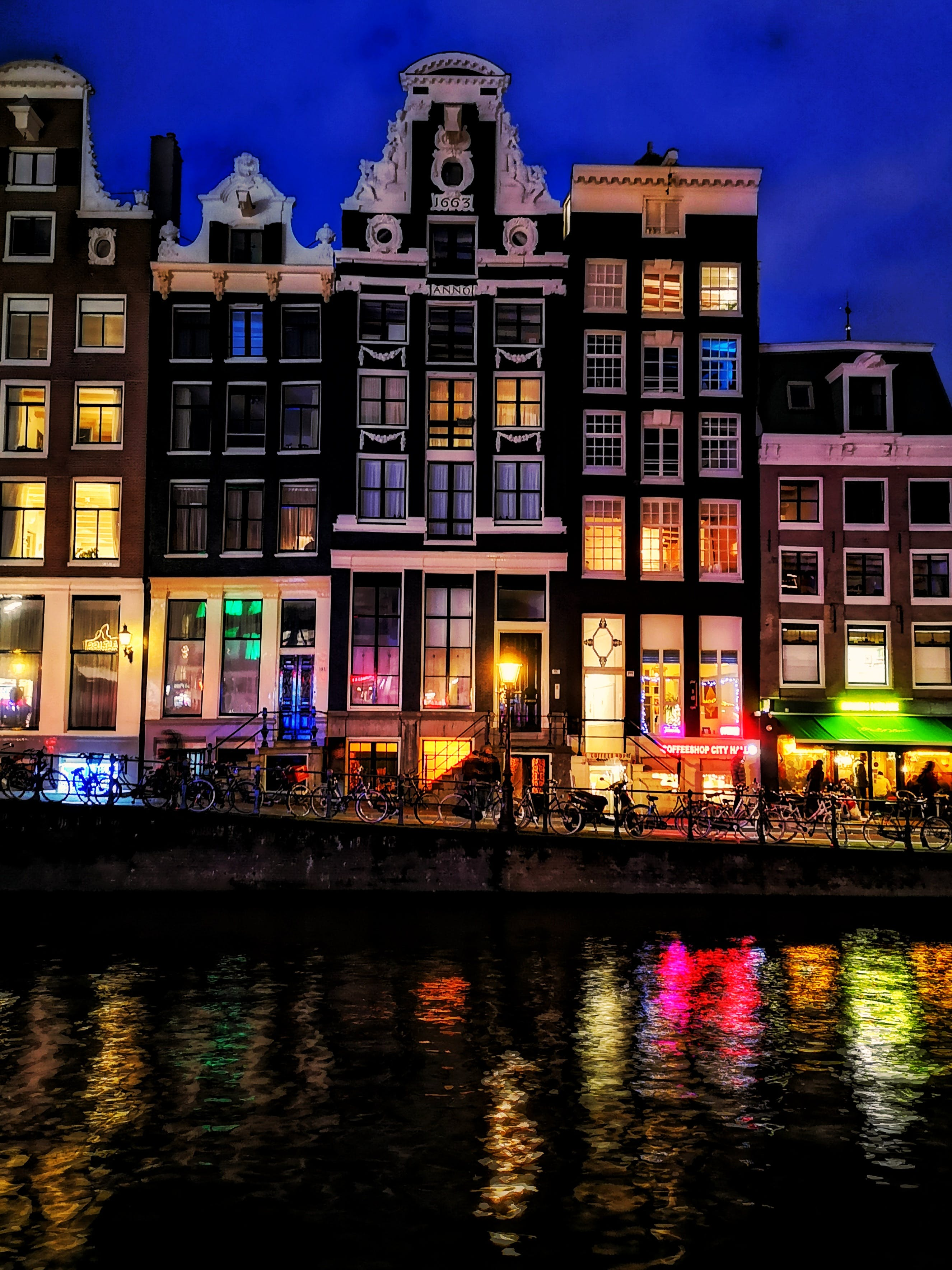Free stock photo of amsterdam, canal, colour, europe