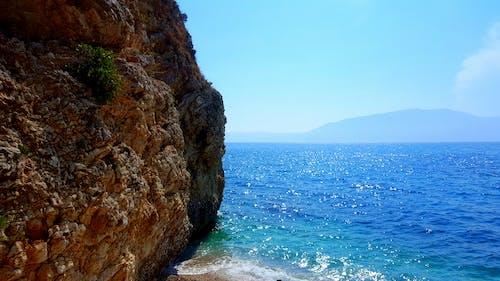 Free stock photo of beach, sand, sea, sky