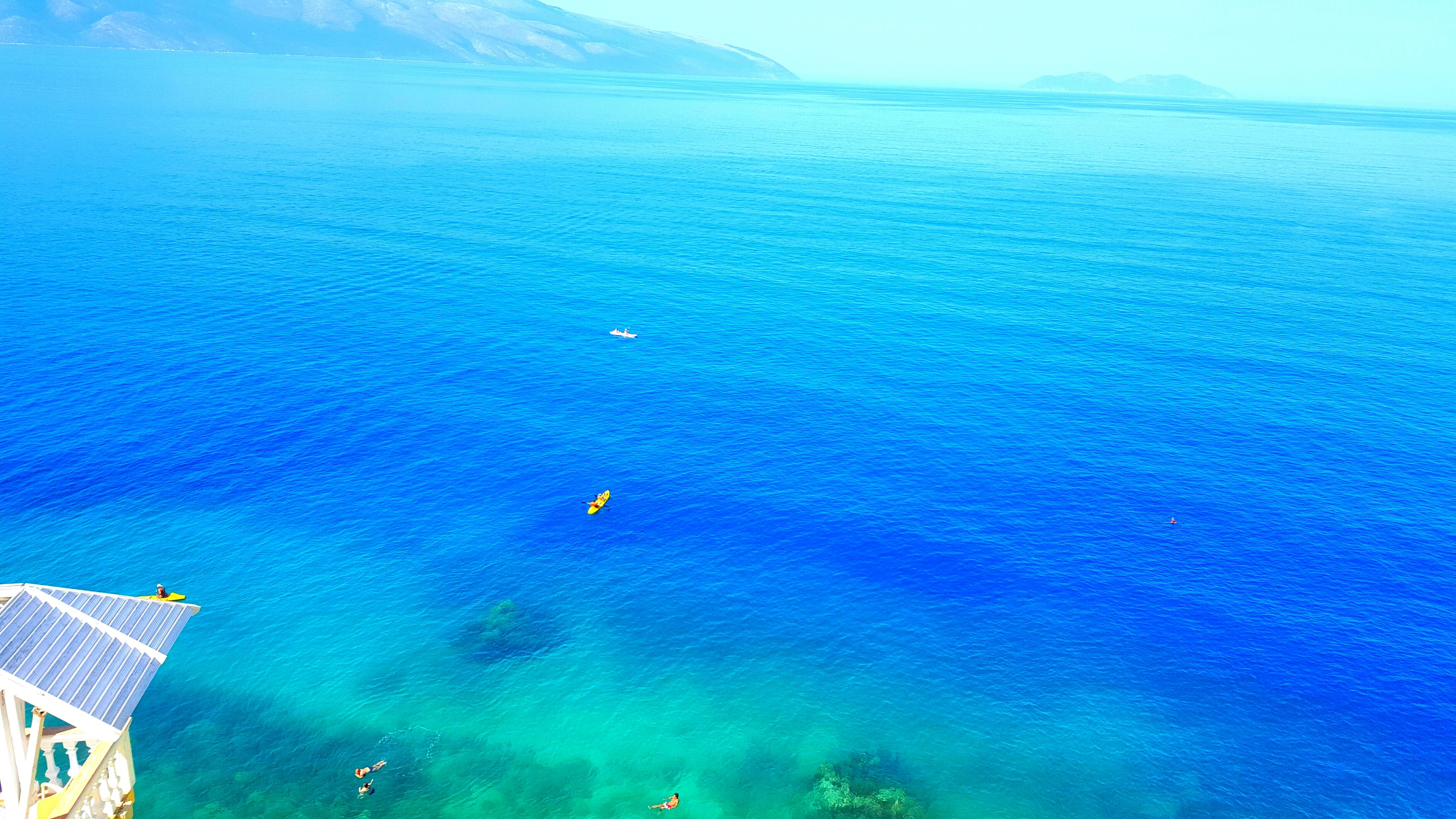 Blue Body of Water