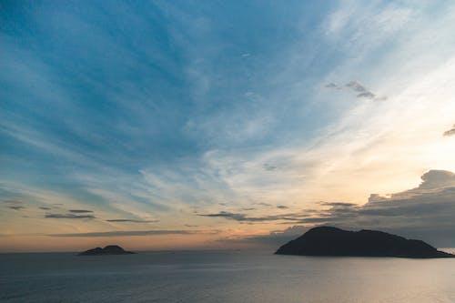 山, 空, 青空の無料の写真素材