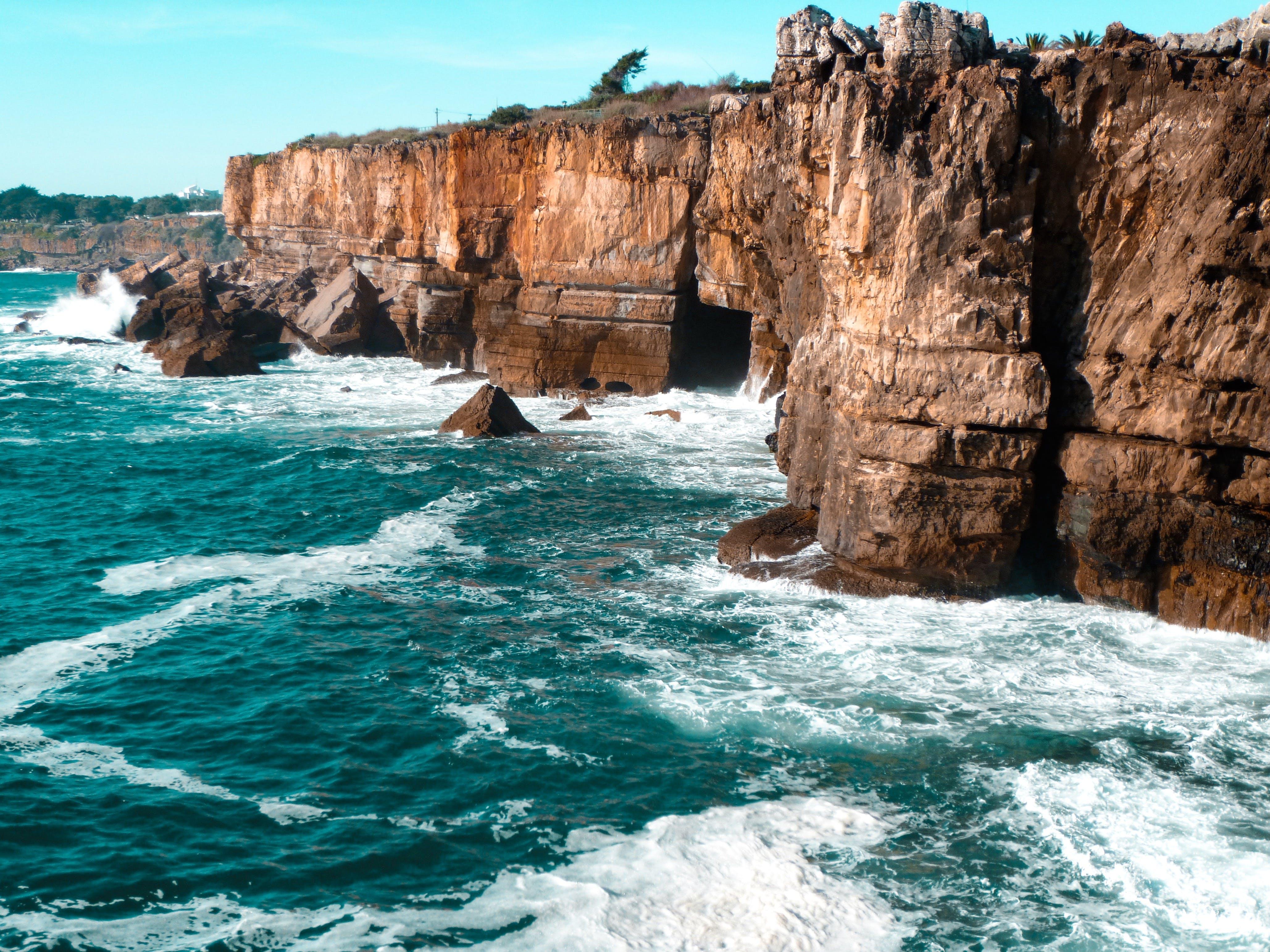 シースケープ, ロッキー, ロッキーショア, 岩の無料の写真素材