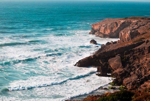 Foto d'estoc gratuïta de acomiadar-se, Costa, mar, natura