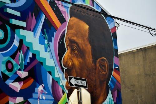 Free stock photo of black art, color, graffiti, mural