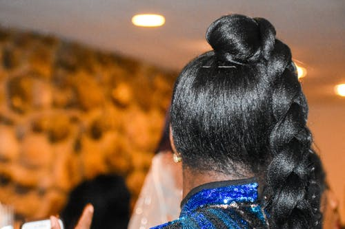 Free stock photo of beautiful woman, black woman, braid, hair