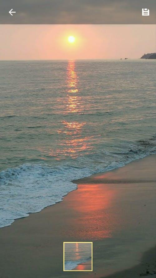Photos gratuites de coucher de soleil, coucher de soleil sur l'océan