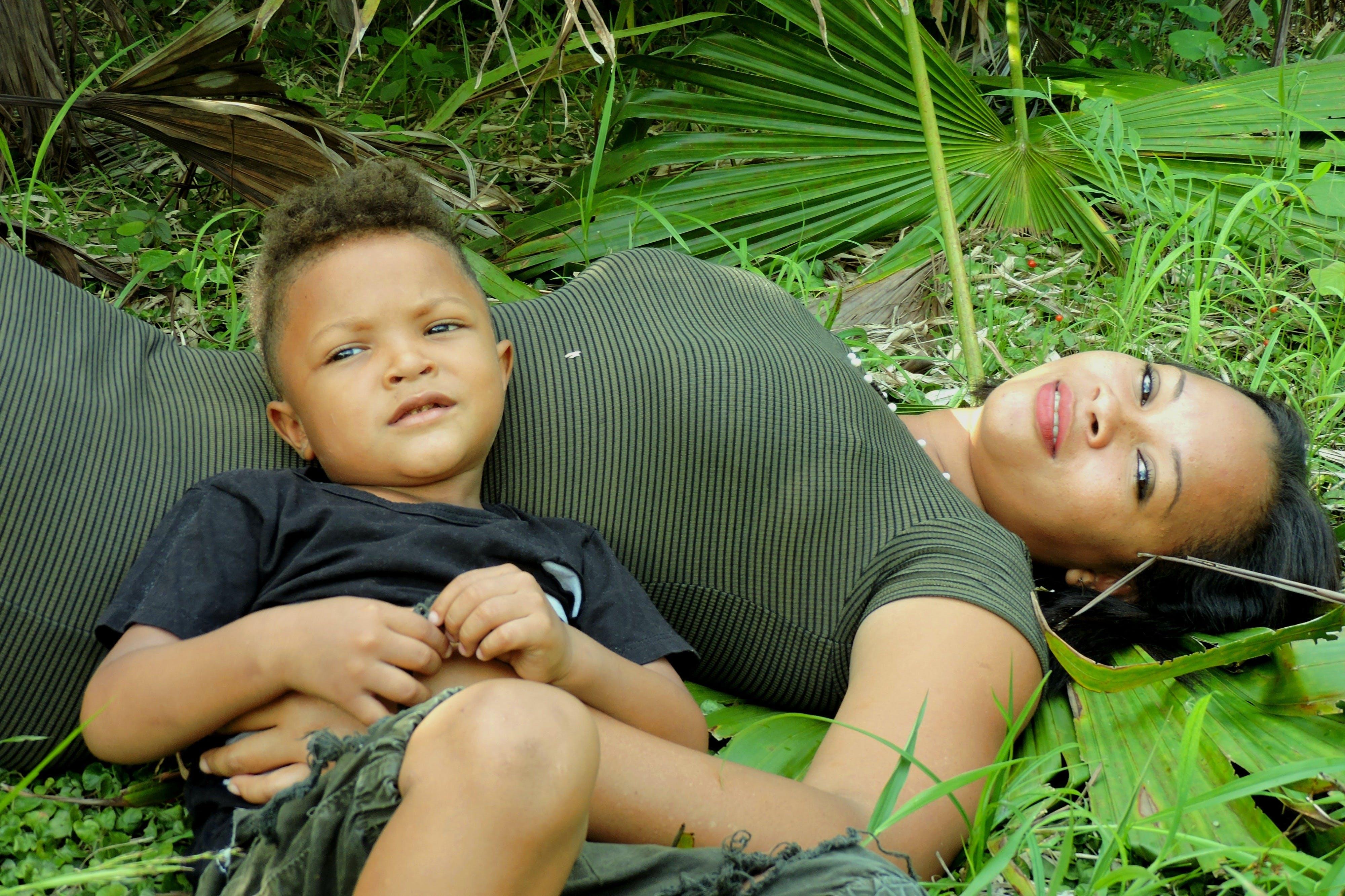 dítě, ekvádorci, entuciasmo