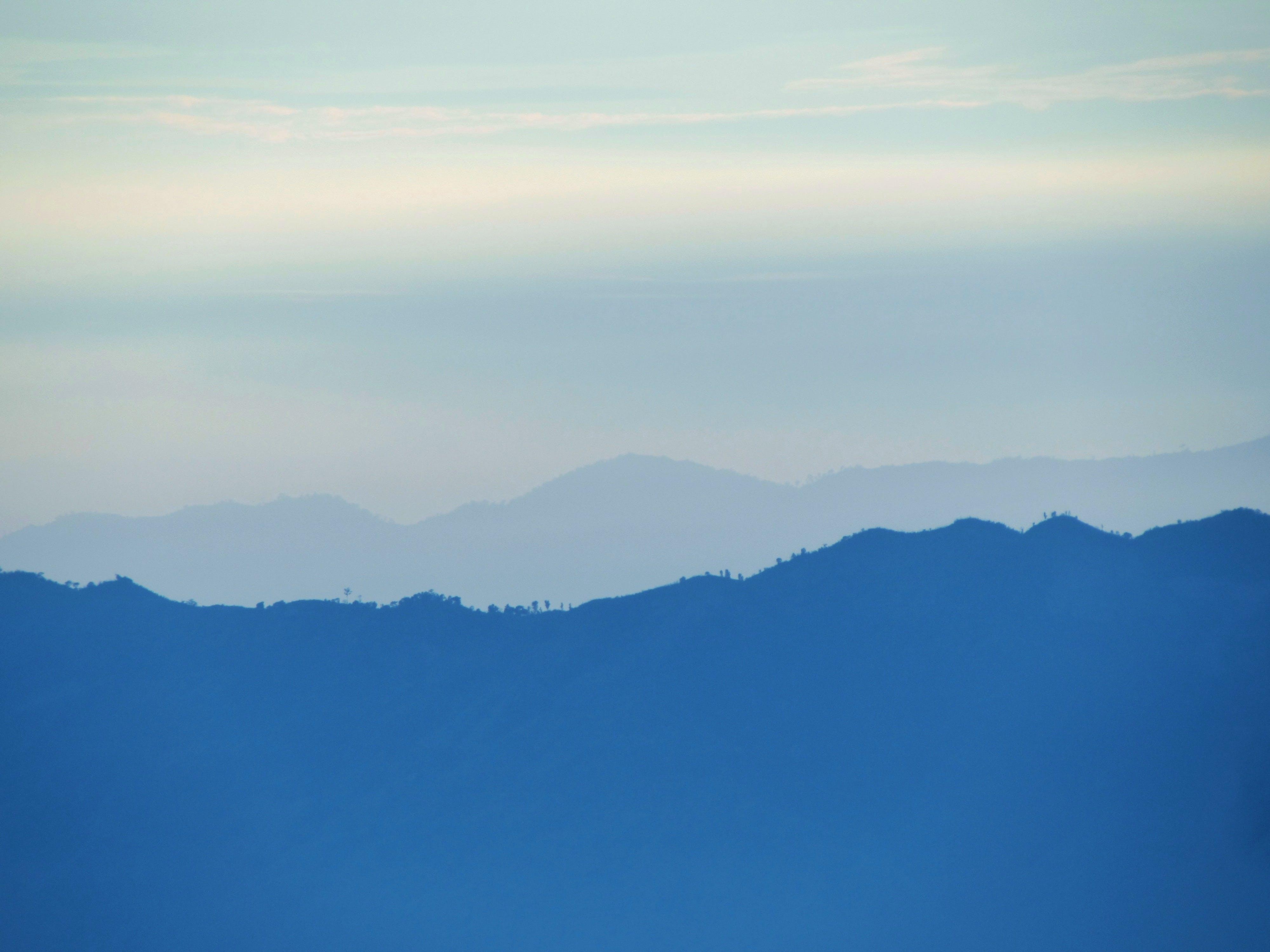 Free stock photo of blue mountains, hill, mountain, mountain line