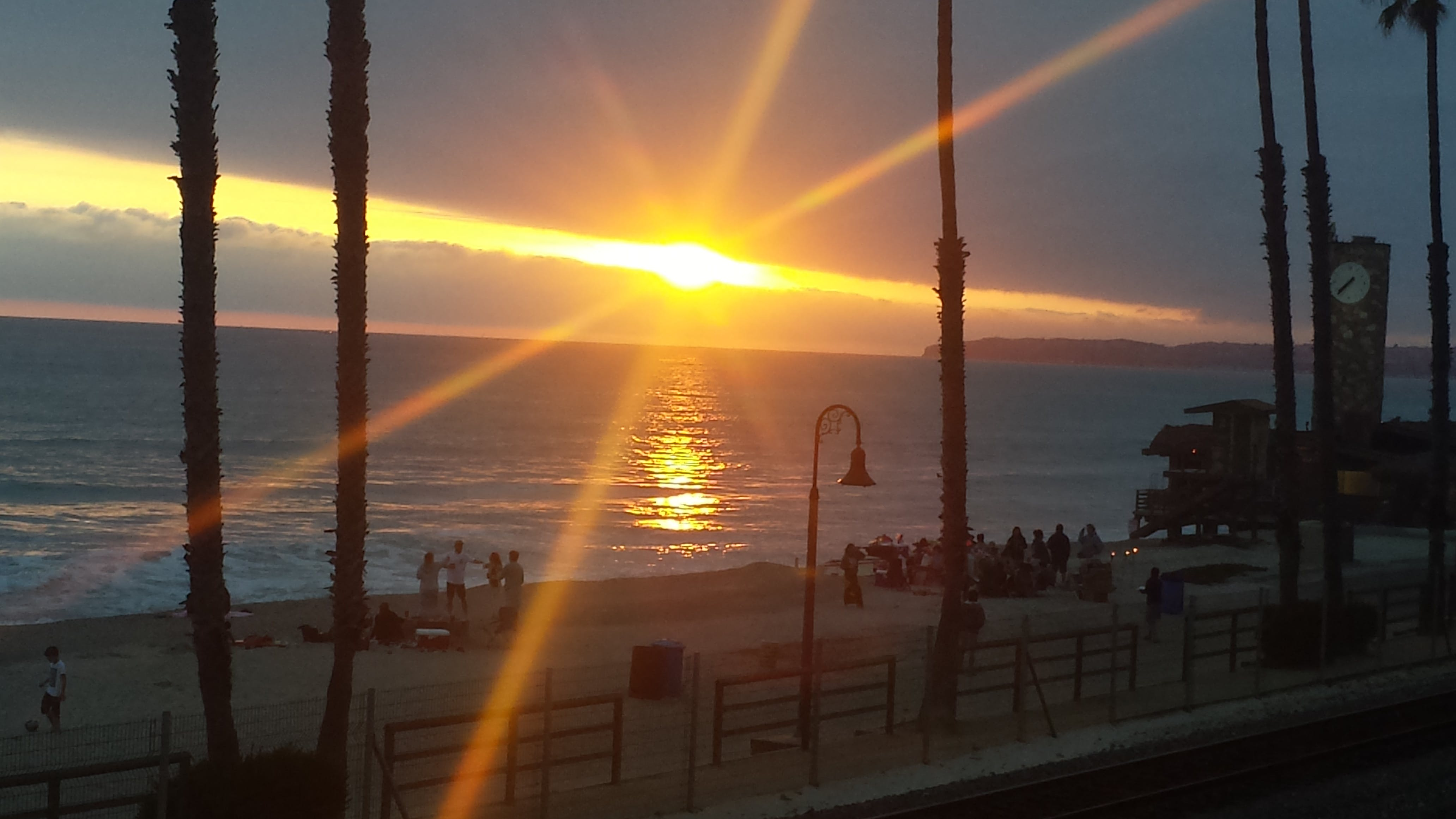 Free stock photo of beach sunset, sunset at San Clemente, sunset beach
