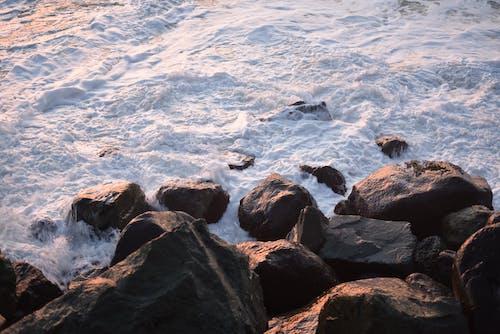 Ingyenes stockfotó óceán, sziklák, tajtékzó tenger, tenger témában