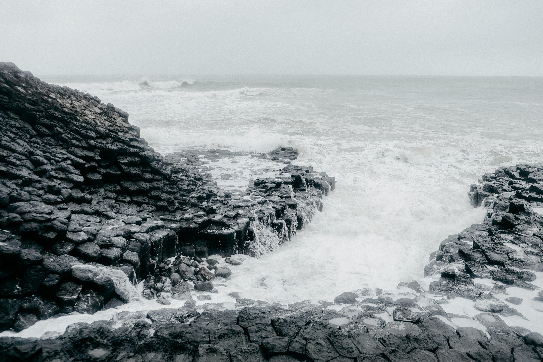 Základová fotografie zdarma na téma černobílá, černobílý, kameny, malebný