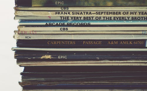 Foto d'estoc gratuïta de cobrir, discos, enregistra, grava