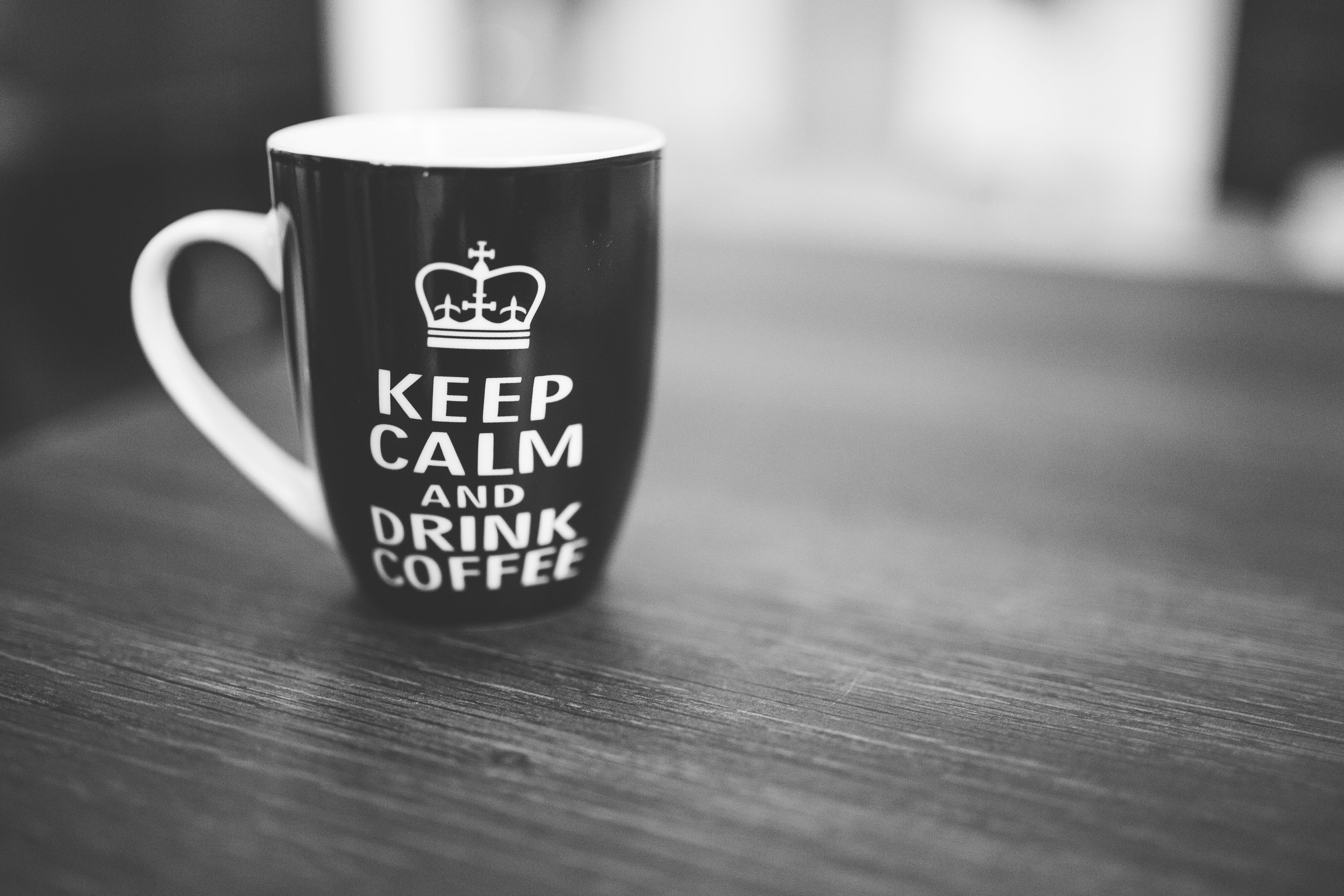 dryck, kaffe, koffein