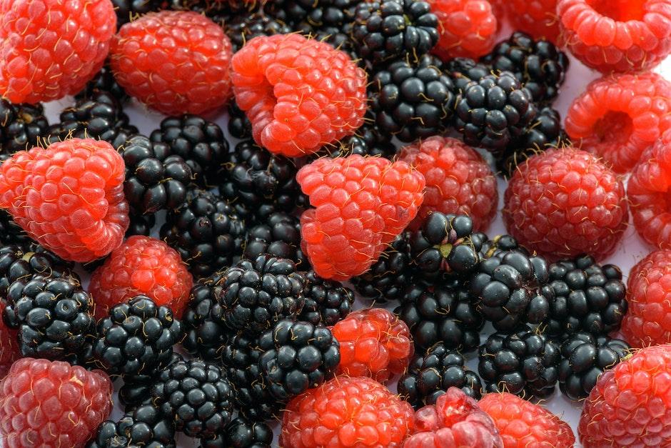 berries, berry, blackberries