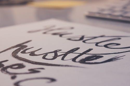 Безкоштовне стокове фото на тему «каліграфія, написання, почерк, рукопис»