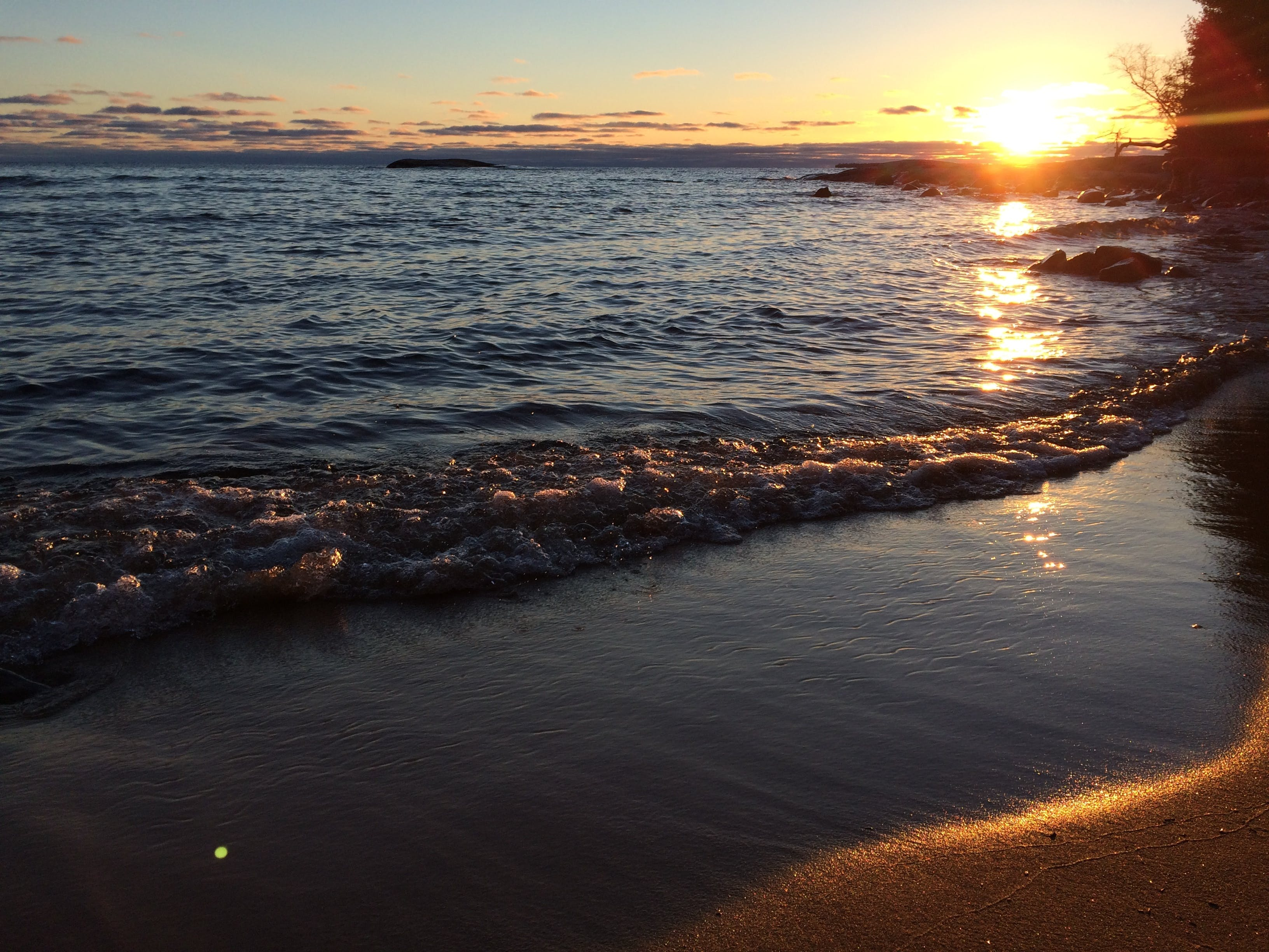 Free stock photo of discovercanada, lakesuperior, ontario, sunset beach