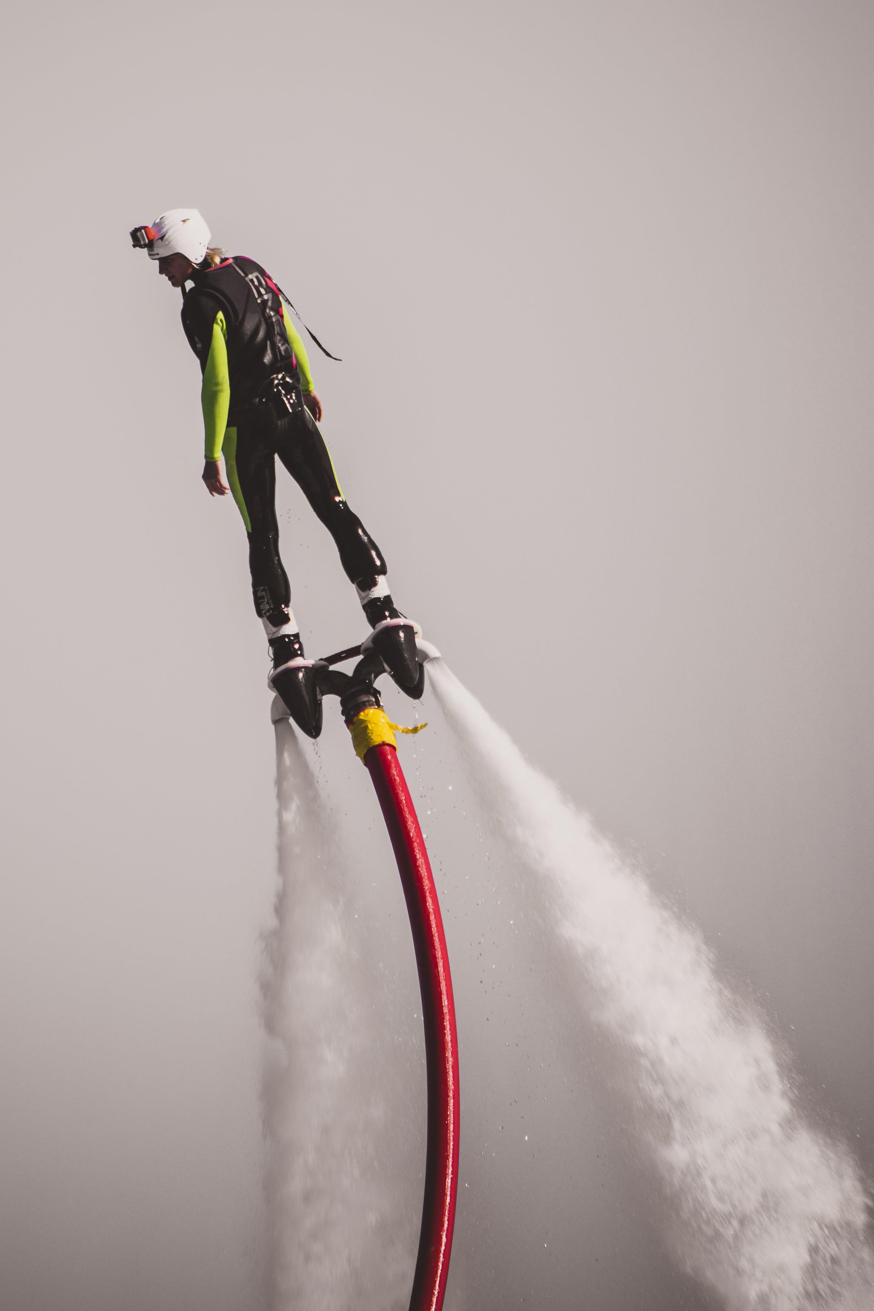 Man on Water Jet Board