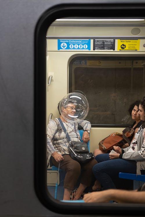 Free stock photo of 35mm, astronaut, ballon, candid