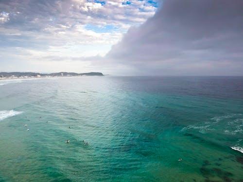 Gratis lagerfoto af currumbin, drone, guld kyst, skyer