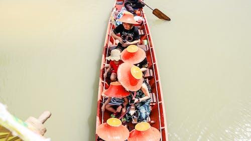 강, 배, 보트, 사람의 무료 스톡 사진