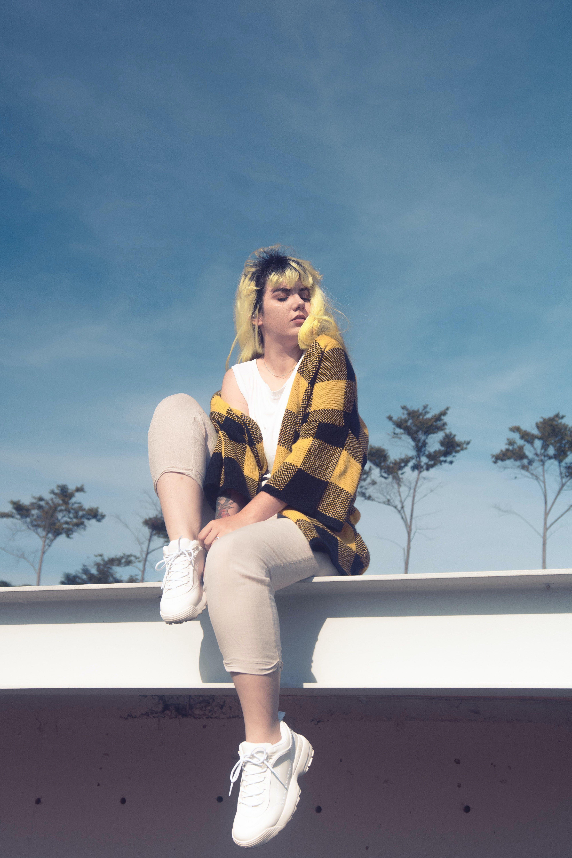 Photo of Woman Wearing Cardigan
