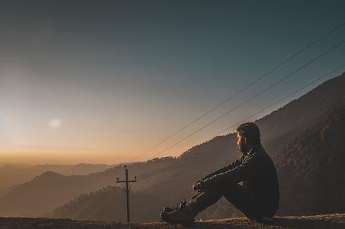 Безкоштовне стокове фото на тему «Photoshop, вечір, високий, гори»