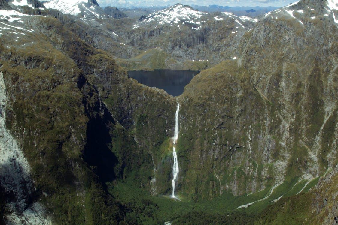 berge, neuseeland, queens