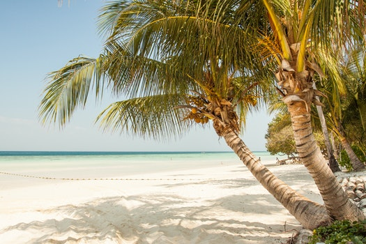Kostenloses Stock Foto zu meer, himmel, strand, sand
