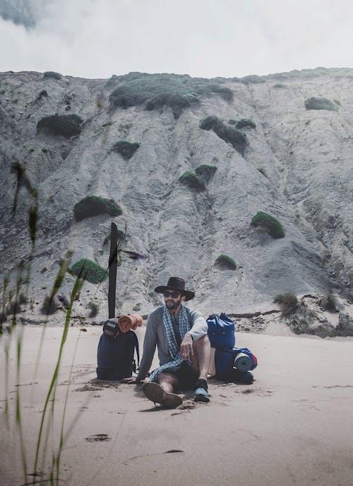 Free stock photo of africa, beach, beachlife, climber